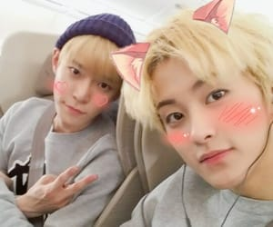 mark, doyoung, and nct image