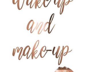 makeup, loveit, and goodmorning image