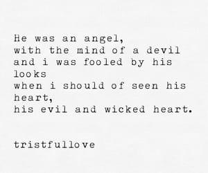 angel, Devil, and feelings image