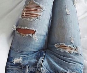 jeans, style, and beautiful image
