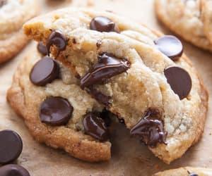 food, chocolate, and Cookies image