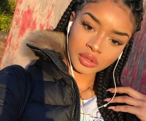 makeup, baddie, and instagram image