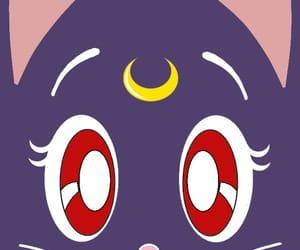 90's, manga, and moon image