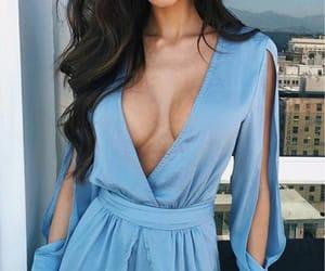 blue, style, and fashion image