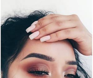 nails, makeup, and aesthetic image