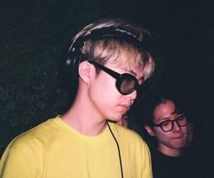 boys, grunge, and yellow image