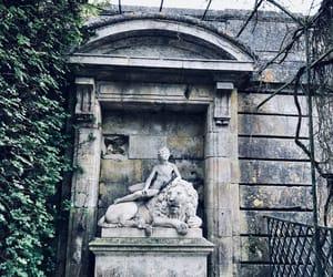 art, jardin, and lion image