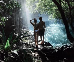 adventure, couple, and outdoors image