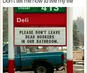 bathroom, dead, and hookers image