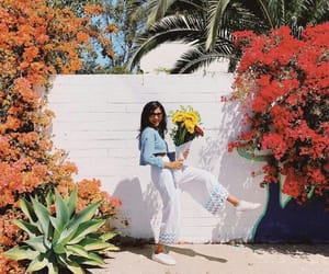 flowers, summer, and fashion image