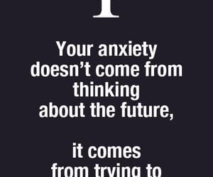 anxiety and future image