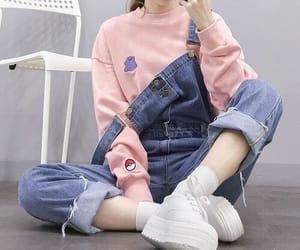 kfashion, ulzzang, and korean fashion image