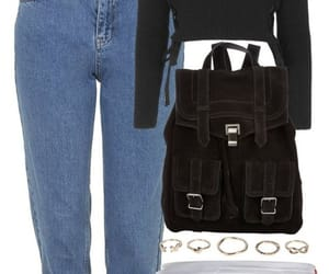 bag, clothes, and outfits image