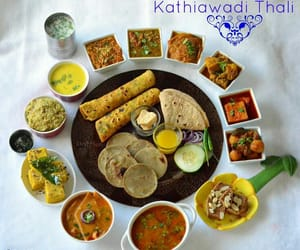 cuisine, gujarat, and land of spices image