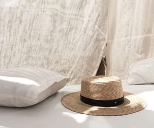 hat and white image