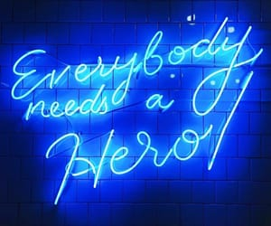 aesthetic, blue, and quotes image