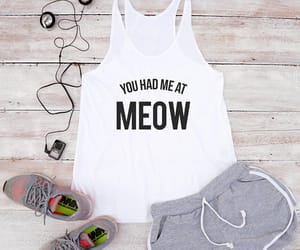 cat, funny, and hipster image