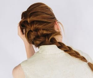 aesthetic, braid, and hairstyle image