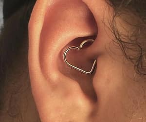 heart and piercing image