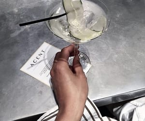 drink, girl, and fresh taste image