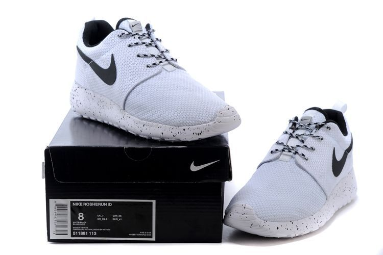 c4259fad4c87 germany womens mens nike roshe run custom id white white black f2100 782b5