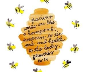 bee, god, and honey image