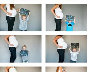 baby, pregnant, and pregnancy image