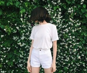 white, asian, and green image