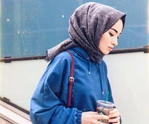 aesthetic, hijab, and beautifully image