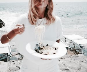 pasta, white, and blonde image