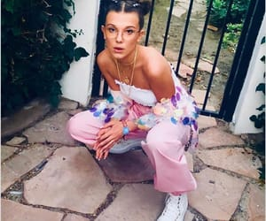millie bobby brown, coachella, and stranger things image