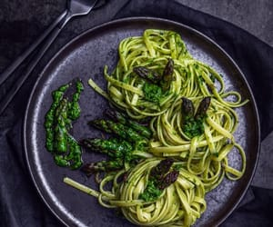 asparagus, garlic, and healthy image