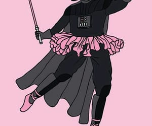 pink, wallpaper, and star wars image