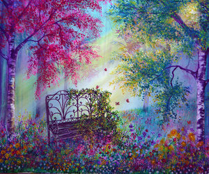 beautiful, forest, and memories image