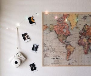 map, travel, and world image