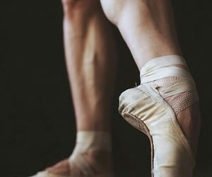 ballet, points shoes, and dance image