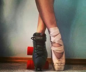 ballet, patins, and quad image