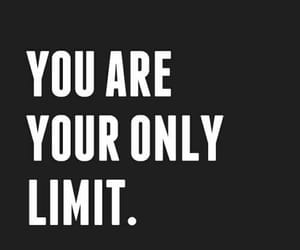 quotes, limit, and motivation image