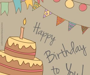 bday, birthday, and wishes image