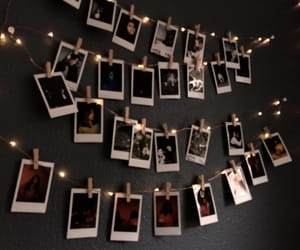aesthetic, lights, and pictures image