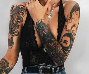 tattoo, body, and ink image