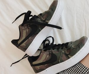 air force 1, bed, and camo image