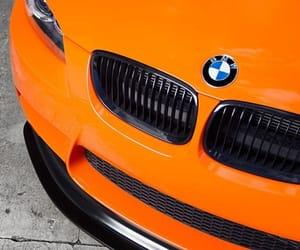 bmw, cars, and orange image