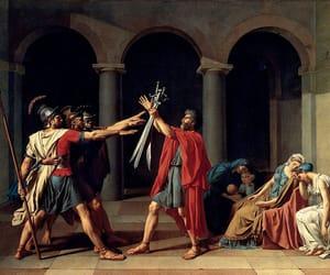 art, david, and history image