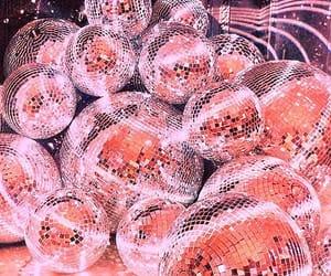 disco, disco ball, and glimmer image