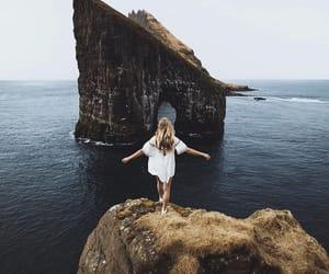 girl, mountain, and wanderlust image