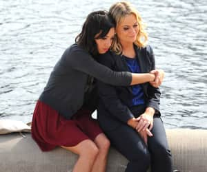 Amy Poehler, aubrey plaza, and parks and recreation image