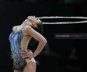 hoop, rhytmic gymnastic, and taseva image