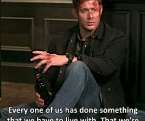 dean winchester, gif, and spn image
