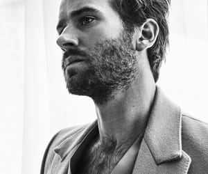 black and white, Hottie, and armie hammer image